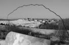 subdivision, houses, black and white, landscape, New Topographics, social landscape, winter, Windsor, Nova Scotia, Canada, ragged rainbow