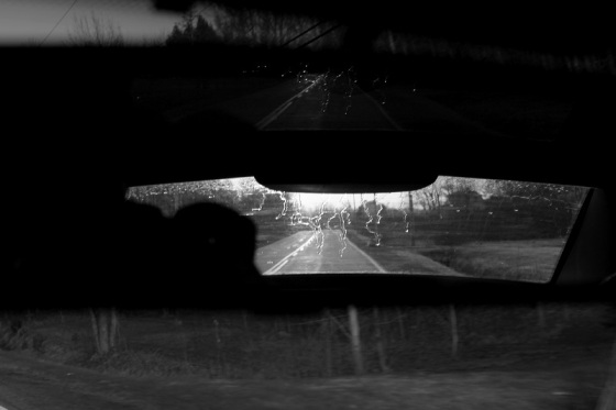 black and white, photo, rear view mirror, reflection, social landscape,