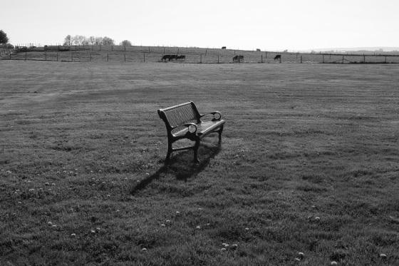 black and white, social landscape, Grand-Pre, Nova Scotia, Canada, French Cross,