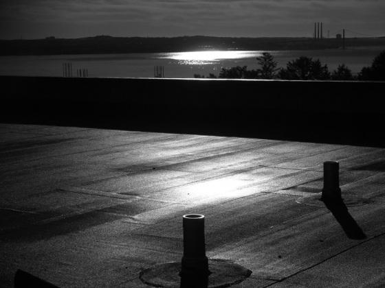 black and white, landscape, Bedford, Nova Scotia, photo,