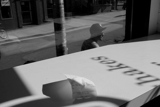 black and white, social landscape, photo, Halifax, Nova Scotia, street, cityscape, check, counter, light, shadows,