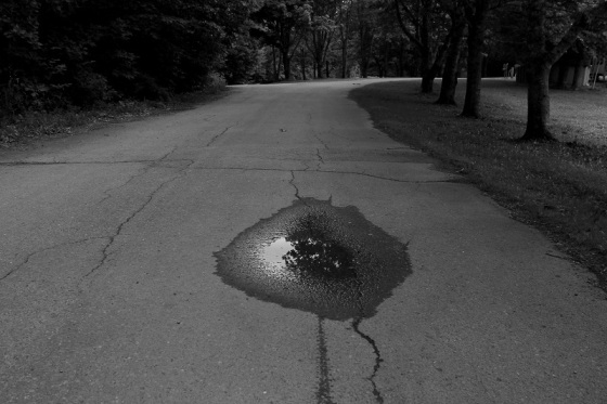 black and white, photo, sandscape, puddle, Smileys Provincial Park, Nova Scotia,