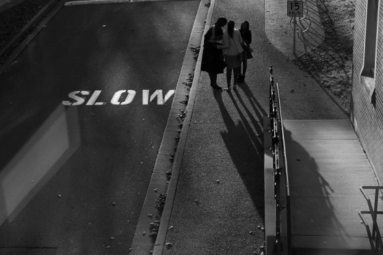 black and white, shadows, people, social landscape