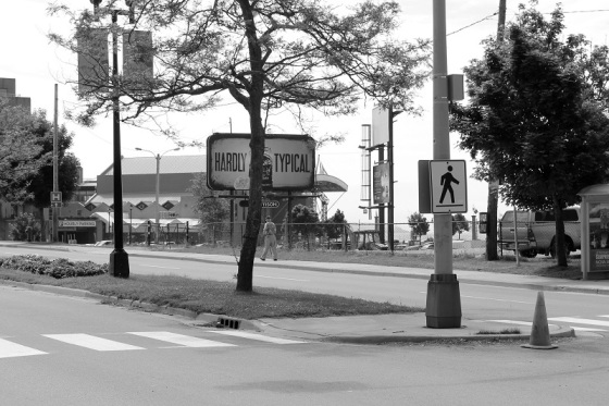 black and white, photo, social landscape, Dartmouth, Nova Scotia