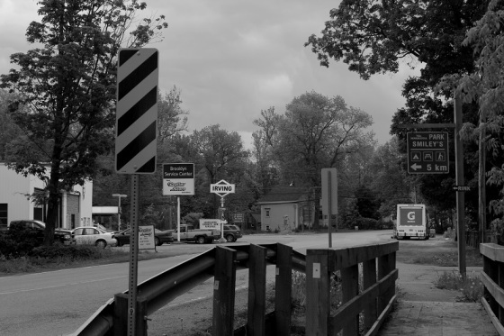 black and white, photo, Brooklyn, social landscape, Hants County,