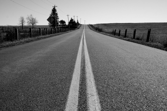 black and white, photo, road, pavement, social landscape,