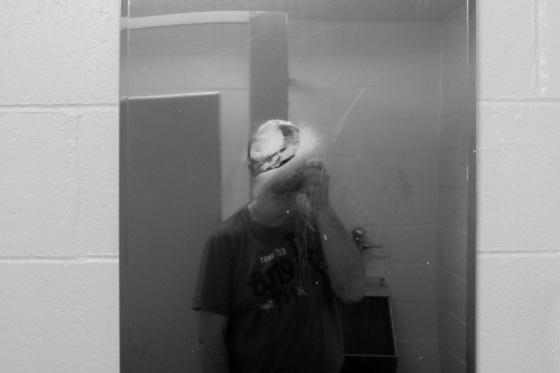 black and white, photo, self portrait,