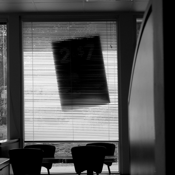 black and white, photo, window,