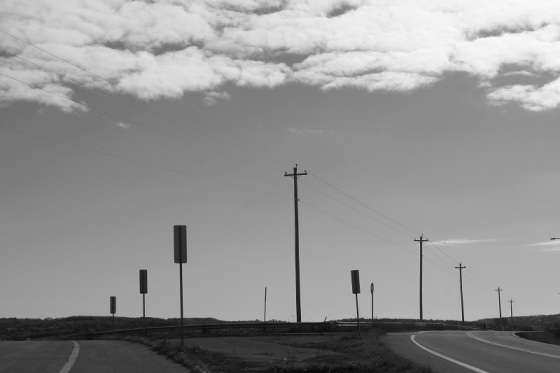 black and white, photo, social landscape, Grand-Pre, Nova Scotia,