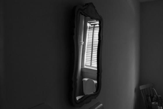 photo, black and white, reflection,