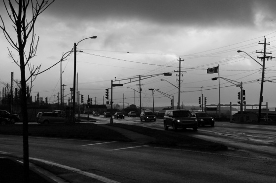 photo, black and white, social landscape, Dartmouth, Nova Scotia