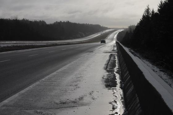 phpto, colour, light, highway 101, Nova Scotia, landscape,