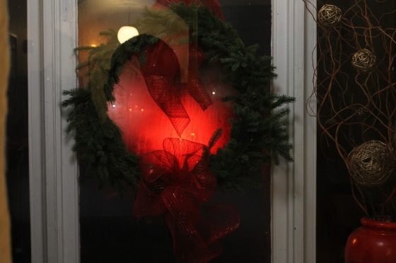 photo, wreath, red, Christmas, Ozu, Equinox Flower,