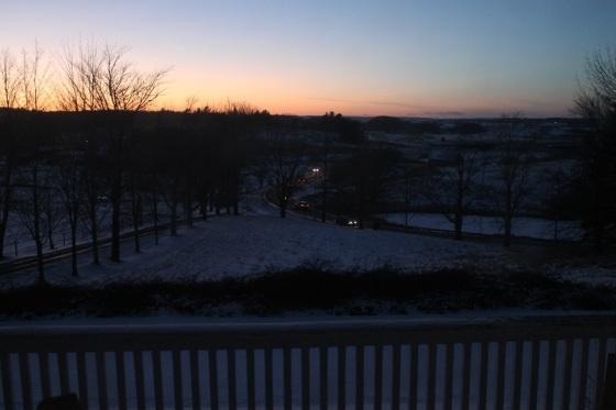 colour, sunset, landscape,
