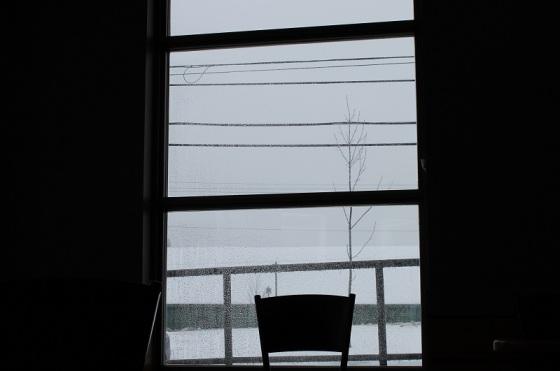 colour, photo, window view, winter,
