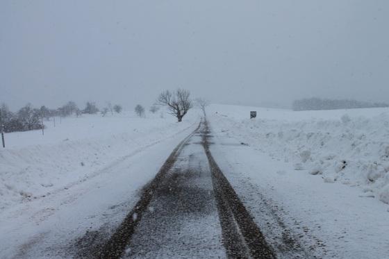 photo, colour, winter, snow,