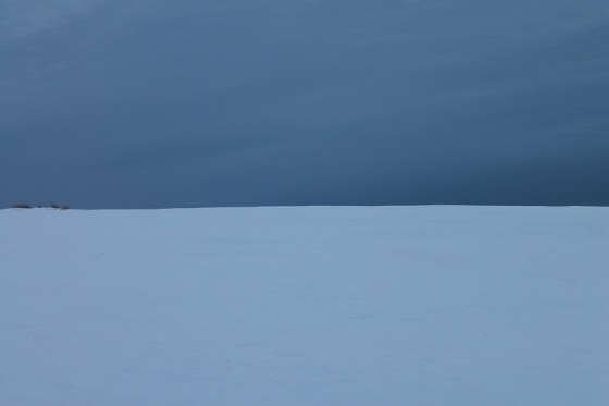 lasndscape, minimal, colour, winter, snow,