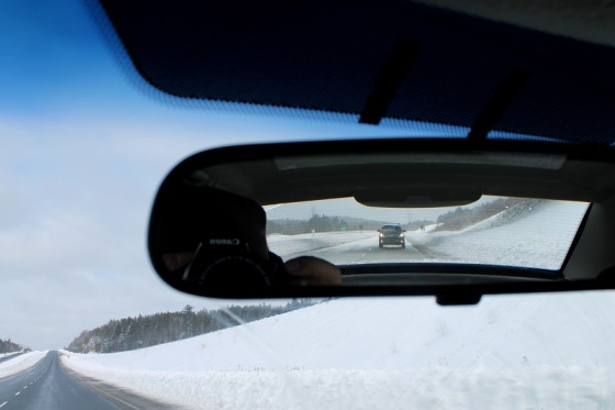 winter, photo, colour, Highway 101,
