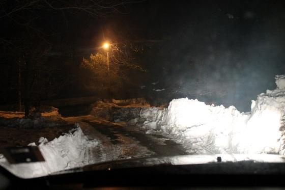winter, snow, driveway, Nova Scotia,