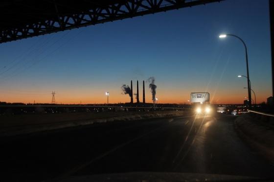 Halifax, morning, traffic,