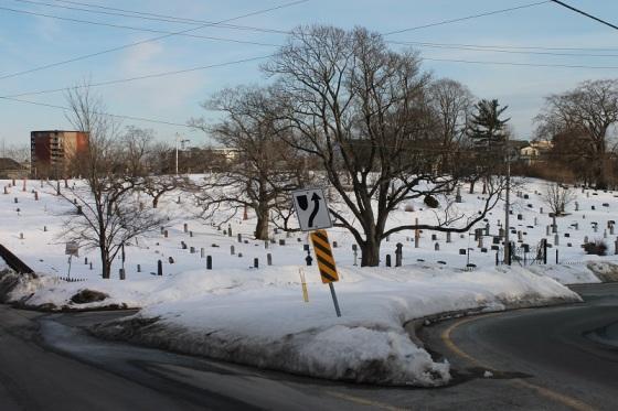 sign, graveyard, cemetery, Good Friday,