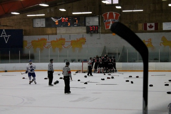 The Glace Bay Miners defeated Valley Maple Leafs yesterday to win the NS provincial Junior B title.