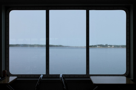 window view, ferry,