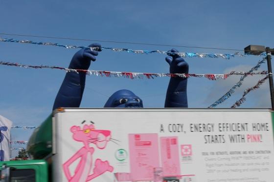 Pink Panther, Promo Gorilla,