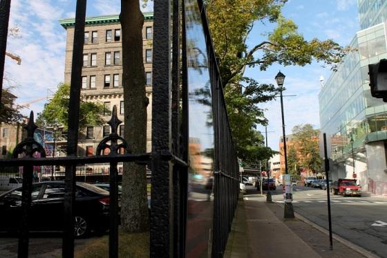 city, street, Halifax, equinox, autumn,