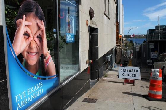 vision, eye exam, humour, Halifax, Sackville Street,