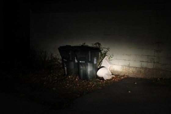 toilet, trash,