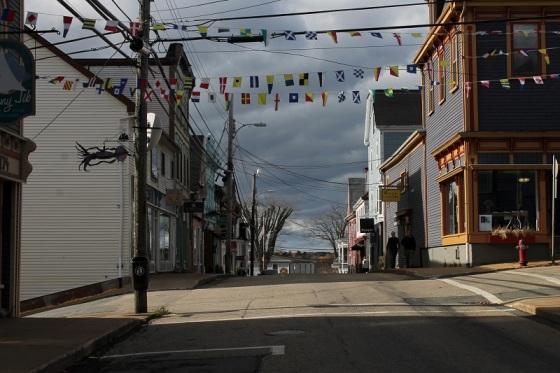 Lincoln Street, Lunenburg, Nova Scotia,