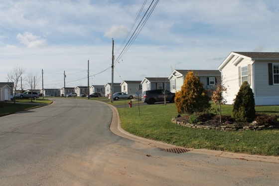 mini homes, The Crossing, subdivision,