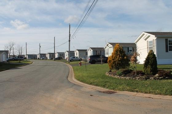 mini homes, The Crossing, subdivision,