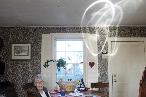 mother, christmas, light pattern,