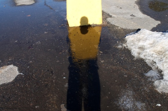water, self portrait, shadow, reflection,