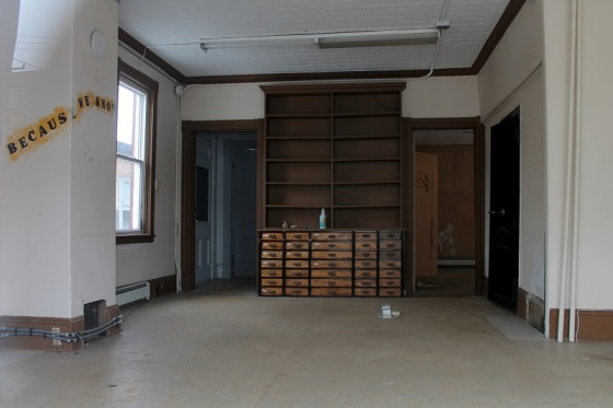interior, empty office,