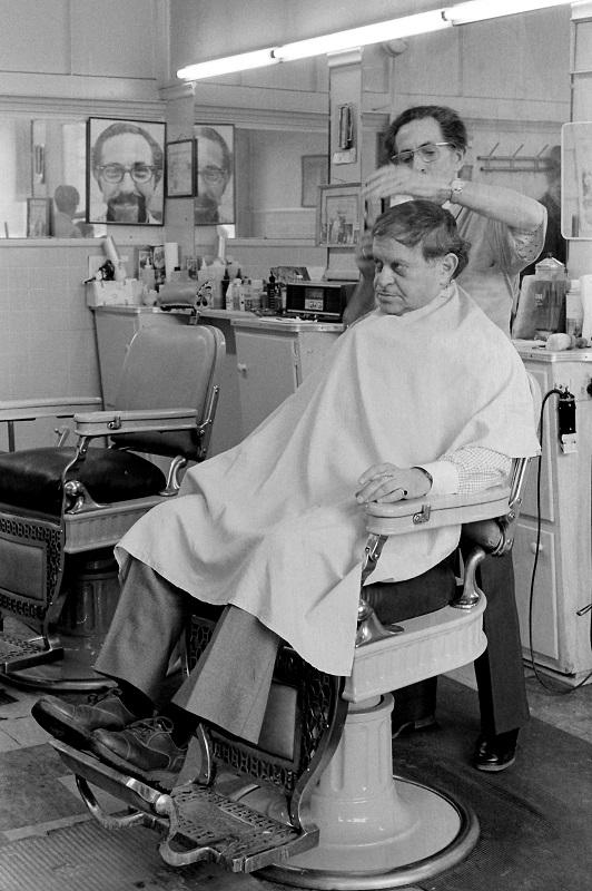 Barbershop, Toronto, 1980