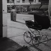 Danforth Avenue, Toronto, baby stroller,
