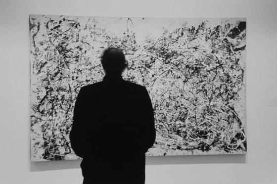 Jackson Pollock, painting, MOMA,