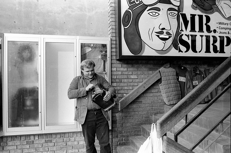 Toronto, street photography, Jim Morrison, 1982,