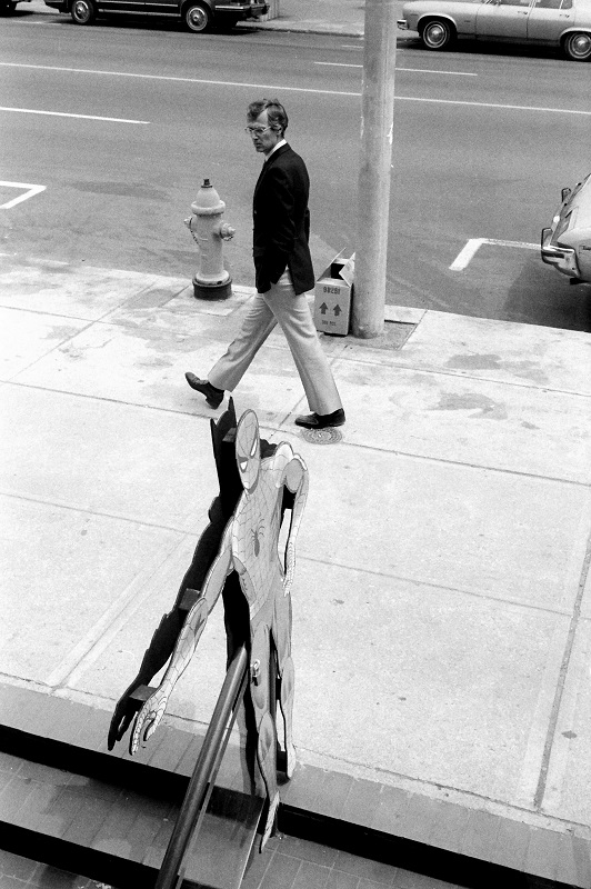 Yonge Street, Toronto, Spiderman, pedestrian,