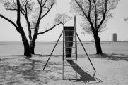 Toronto, slide, Budapest Park,