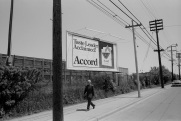 Toronto, 1983, street, billboard,