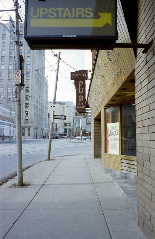 Imperial Pub, Toronto,1982