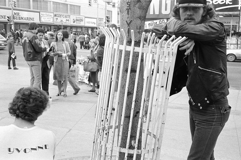 Toronto, 1984, Yonge Street, Eatons Centre,
