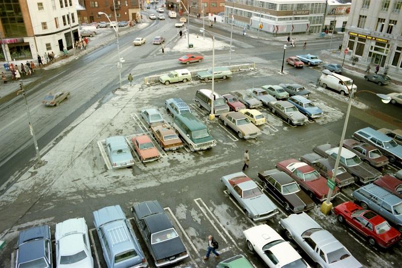 Dundas Square, Toronto, 1983,