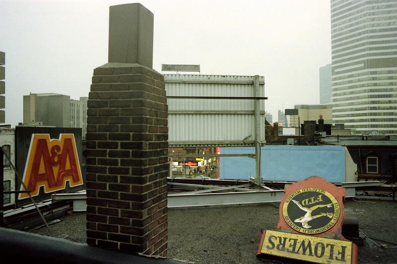 rooftop, Toronto, 1982,