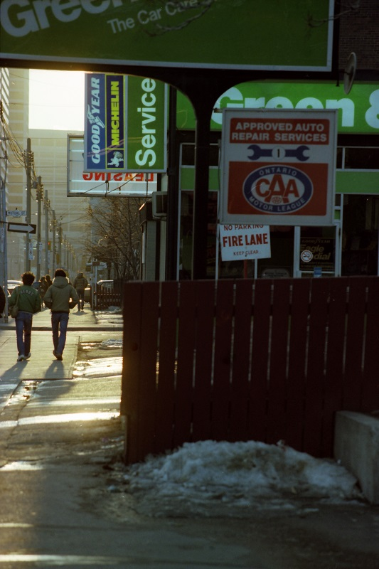Gerrard East and Mutual, Toronto,1982