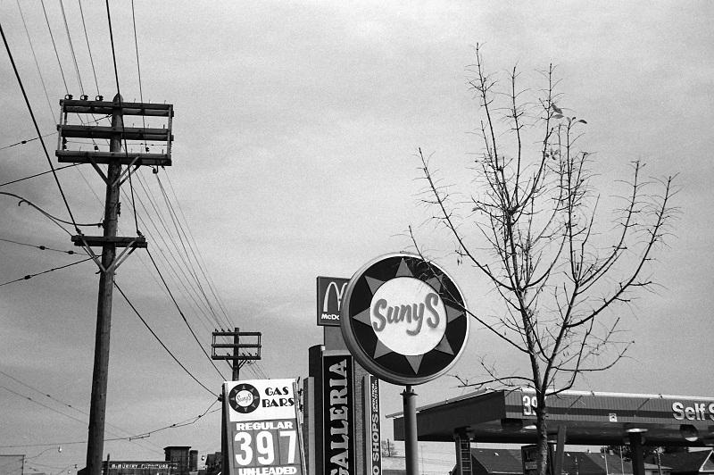 gas station, 1984, Dupont Street, Toronto,